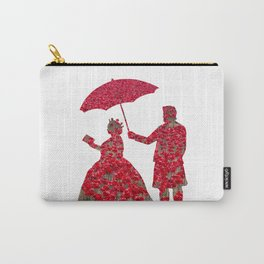 Poppy Queen Carry-All Pouch