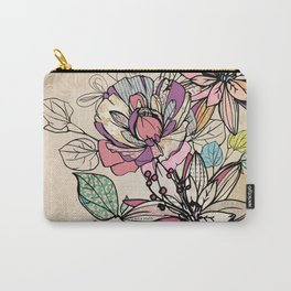 Paper Flowers #6 Carry-All Pouch