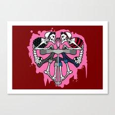 Kreeper Girls Canvas Print
