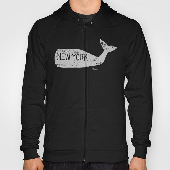 Antique Whale - New York Hoody