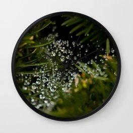 Nature's Ornaments Wall Clock