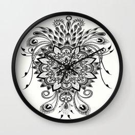 Abundance Mandala Wall Clock