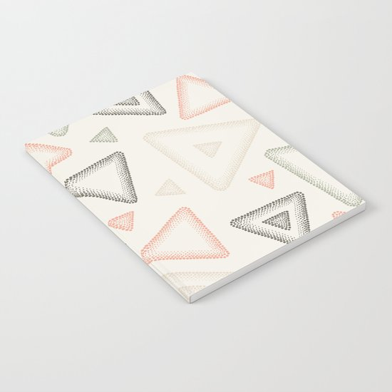 Retro Dotted Pattern 01 Notebook