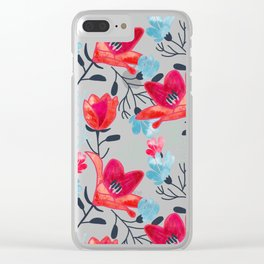Ruhi #pattern #illustration Clear iPhone Case