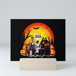 That's How I Saved The Halloween Jesus Talk To Horror Charaters Friends Mini Art Print