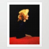 Lego: Vogue Cover Art Print