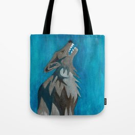 Hollowing Wolf Tote Bag