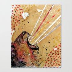 Lionhart Canvas Print