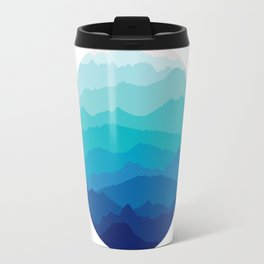 Blue Mist Mountains Travel Mug