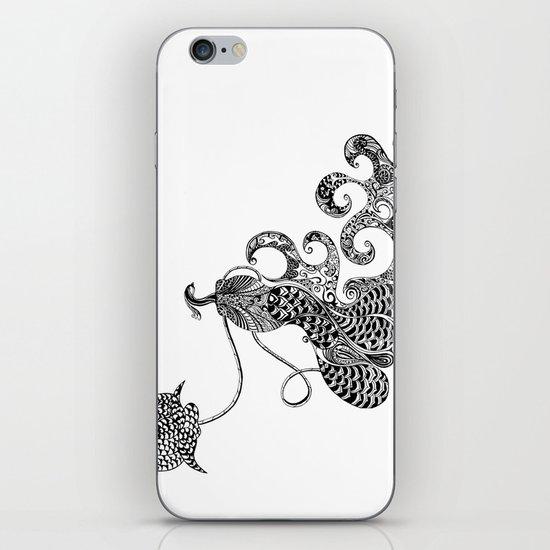 Peacock Love iPhone Skin