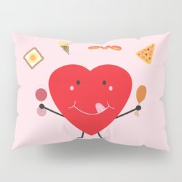 Hungry Heart Pillow Sham
