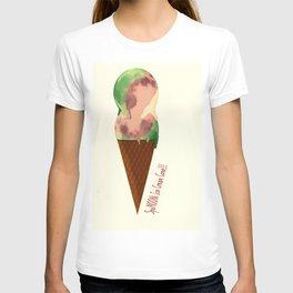 SpuMOONi Ice Cream Cone T-shirt