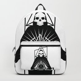 Discover triangle skull Backpack