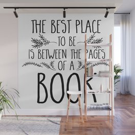Between the Pages Wall Mural