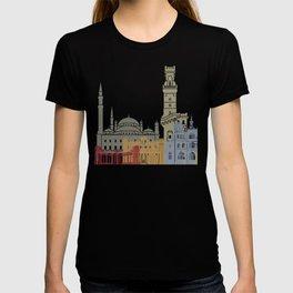 Alexandria skyline poster T-shirt