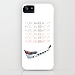 BEAT FRONT MASK iPhone Case
