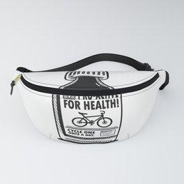Funny cycling bike design - biker medicine perfect gift Fanny Pack