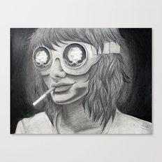 Self Destruct Canvas Print