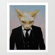Mister Cat Art Print