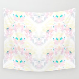 Floral Stripes Wall Tapestry
