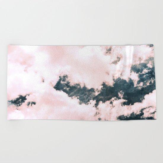 Ocean Clouds Beach Towel
