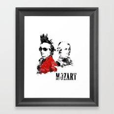 Mozart Punk Framed Art Print