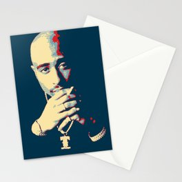 Tu pac Shakur 2 pac Stationery Cards