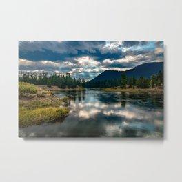 Snake River Revival - Morning Along Snake River in Grand Tetons Metal Print