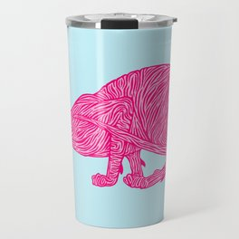 Pink Tammy Travel Mug