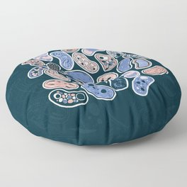 Microbes Floor Pillow