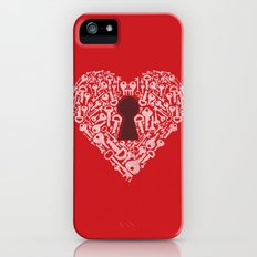 The Key To My Heart Slim Case iPhone (5, 5s)