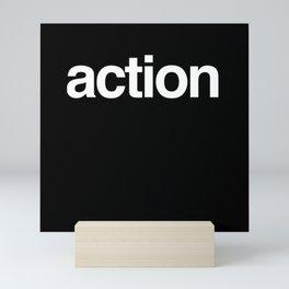 Action Mini Art Print
