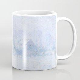 """Claude Monet """"Effet de neige à Giverny"""" Coffee Mug"""