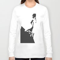 popart Long Sleeve T-shirts featuring PopArt Halftone by C R Clifton Art