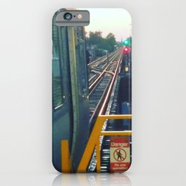 The El at Sunset iPhone Case