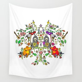Mirror Spring & Reapers Wall Tapestry