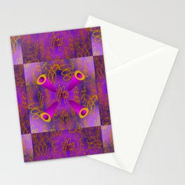 Oo - pattern 3 Stationery Cards