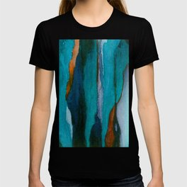 """""""a dark february redux1"""" abstract watercolor painting T-shirt"""