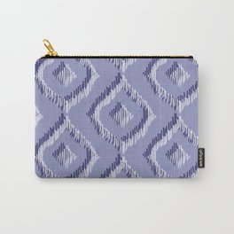 Ikat Blues II Carry-All Pouch