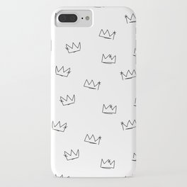 Crowns Reverse iPhone Case