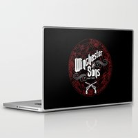 winchester Laptop & iPad Skins featuring Winchester & Sons by Manny Peters Art & Design