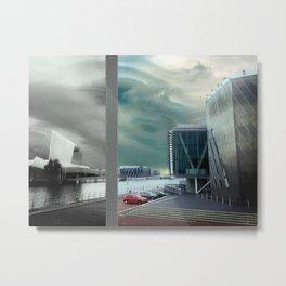 Interrupted Landscape Metal Print