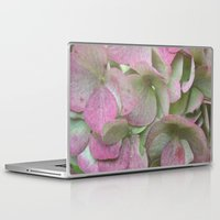 vintage flowers Laptop & iPad Skins featuring Vintage Flowers by Caroline Benzies Photography