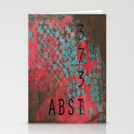 ABSTract 373. Stationery Cards