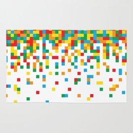 Pixel Chaos Rug