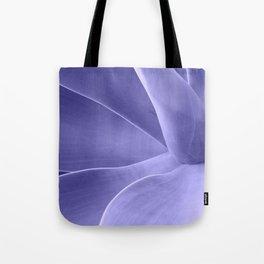Periwinkle Succulent Tote Bag