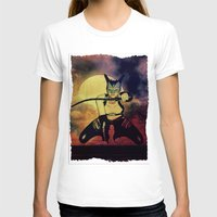 catwoman T-shirts featuring catwoman by Ancello