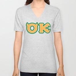 Monster University Fraternity : Oozma Kappa Unisex V-Neck