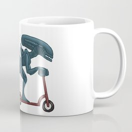 In Space, No One can Hear you Scoot Coffee Mug