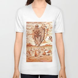 Tribute to the Tainos Unisex V-Neck